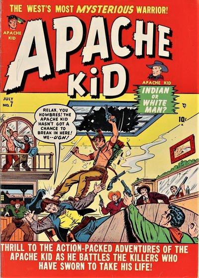 Cover for Apache Kid (Marvel, 1950 series) #7