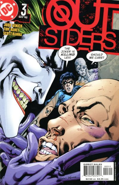 Cover for Outsiders (DC, 2003 series) #3