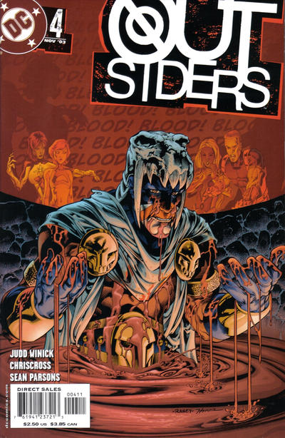 Cover for Outsiders (DC, 2003 series) #4