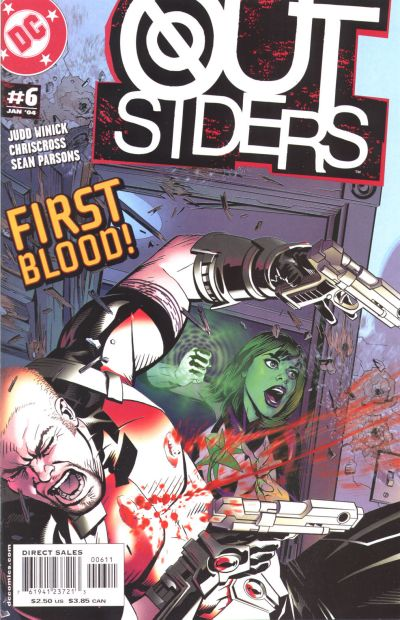 Cover for Outsiders (DC, 2003 series) #6