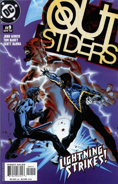 Cover for Outsiders (DC, 2003 series) #9