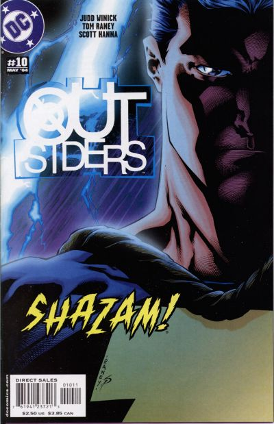 Cover for Outsiders (DC, 2003 series) #10