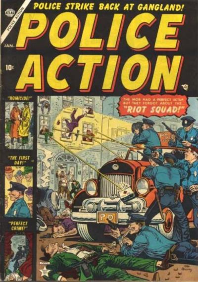 Cover for Police Action (Marvel, 1954 series) #1
