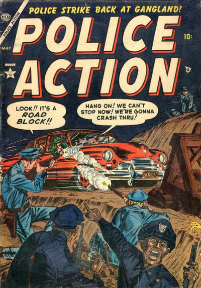 Cover for Police Action (Marvel, 1954 series) #3