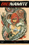 Cover for Die!namite (Dynamite Entertainment, 2020 series) #1 [Cover D Peach Momoko Red Sonja]