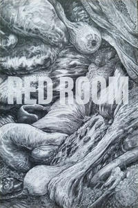 Cover Thumbnail for Red Room: The Antisocial Network (Fantagraphics, 2021 series) #2 [Troy Nixey Virgin Black and White Cover Variant]