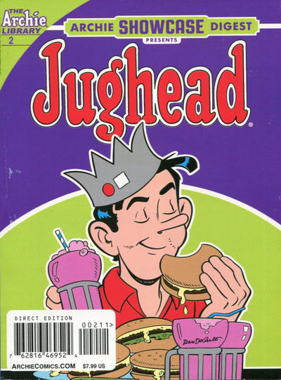 Cover for Archie Showcase Digest (Archie, 2020 series) #2 [Direct Edition]