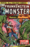 Cover for Frankenstein (Marvel, 1973 series) #15 [British]