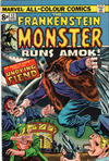 Cover for Frankenstein (Marvel, 1973 series) #13 [British]