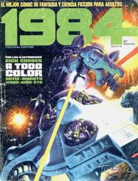 Cover Thumbnail for 1984 (Toutain Editor, 1978 series) #1 [2ª Edición]