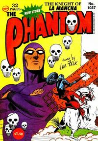 Cover Thumbnail for The Phantom (Frew Publications, 1948 series) #1037