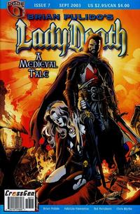 Cover Thumbnail for Brian Pulido's Lady Death: A Medieval Tale (CrossGen, 2003 series) #7