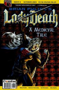 Cover Thumbnail for Brian Pulido's Lady Death: A Medieval Tale (CrossGen, 2003 series) #8