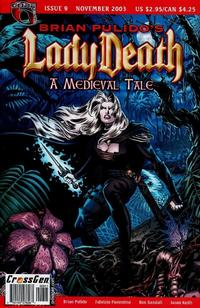 Cover Thumbnail for Brian Pulido's Lady Death: A Medieval Tale (CrossGen, 2003 series) #9