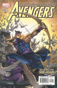 Cover Thumbnail for Avengers (Marvel, 1998 series) #74 (489) [Direct Edition]