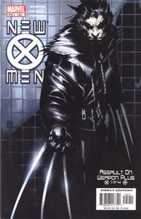 Cover for New X-Men (Marvel, 2001 series) #142