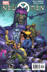 Cover Thumbnail for New X-Men (Marvel, 2001 series) #154 [Direct Edition]
