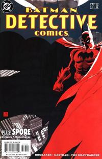 Cover Thumbnail for Detective Comics (DC, 1937 series) #777