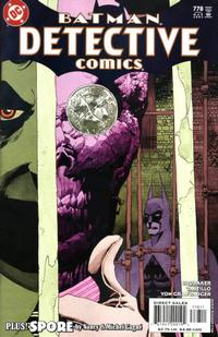 Cover Thumbnail for Detective Comics (DC, 1937 series) #778