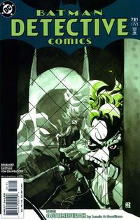 Cover Thumbnail for Detective Comics (DC, 1937 series) #781
