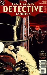Cover Thumbnail for Detective Comics (DC, 1937 series) #782