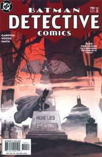 Cover Thumbnail for Detective Comics (DC, 1937 series) #790 [Direct Sales]