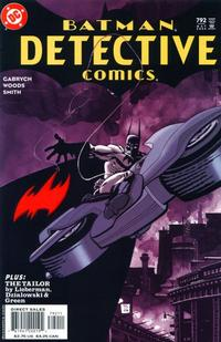 Cover Thumbnail for Detective Comics (DC, 1937 series) #792 [Direct Sales]