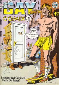 Cover Thumbnail for Gay Comix (Kitchen Sink Press, 1980 series) #1 [$1.25 cover price]