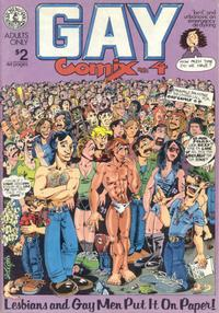 Cover Thumbnail for Gay Comix (Kitchen Sink Press, 1980 series) #4