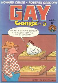 Cover Thumbnail for Gay Comix (Kitchen Sink Press, 1980 series) #5