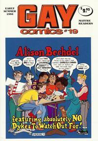 Cover Thumbnail for Gay Comics (Bob Ross, 1992 series) #19