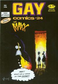 Cover Thumbnail for Gay Comics (Bob Ross, 1992 series) #24