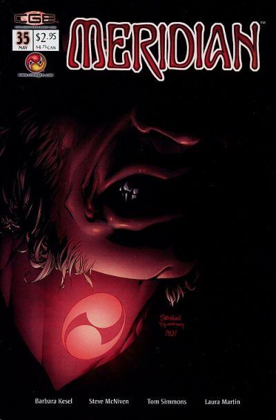 Cover for Meridian (CrossGen, 2000 series) #35