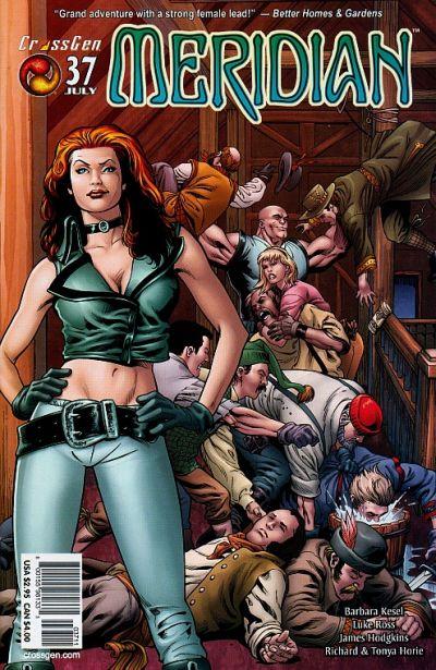 Cover for Meridian (CrossGen, 2000 series) #37