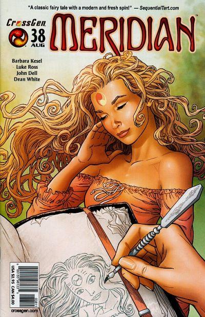 Cover for Meridian (CrossGen, 2000 series) #38