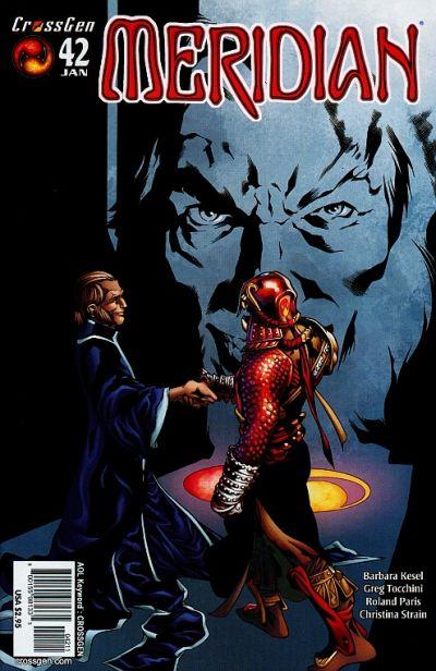 Cover for Meridian (CrossGen, 2000 series) #42