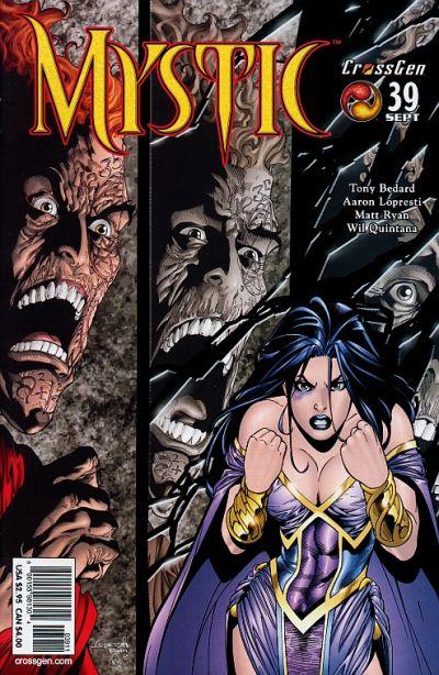 Cover for Mystic (CrossGen, 2000 series) #39