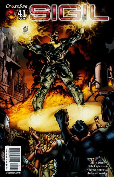 Cover for Sigil (CrossGen, 2000 series) #41