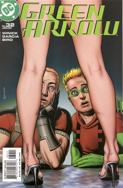 Cover for Green Arrow (DC, 2001 series) #32