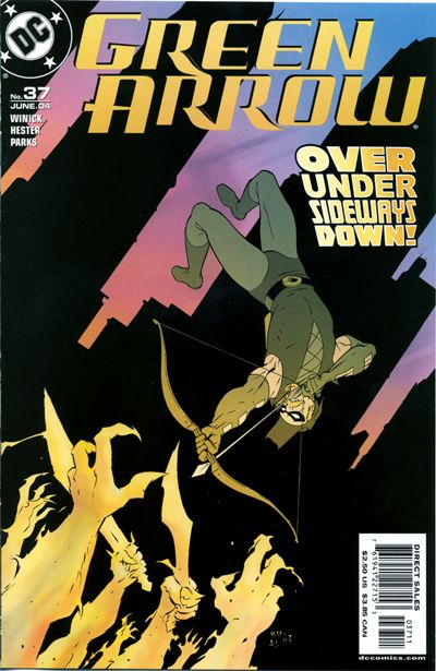 Cover for Green Arrow (DC, 2001 series) #37