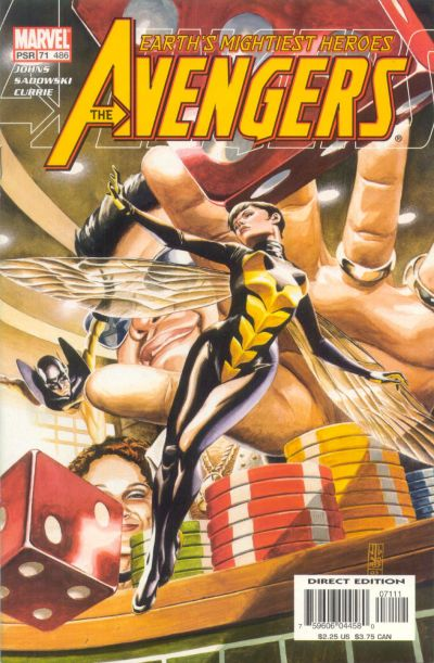 Cover for Avengers (Marvel, 1998 series) #71 (486) [Direct Edition]