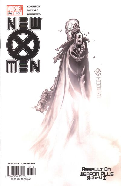 Cover for New X-Men (Marvel, 2001 series) #143 [Direct Edition]