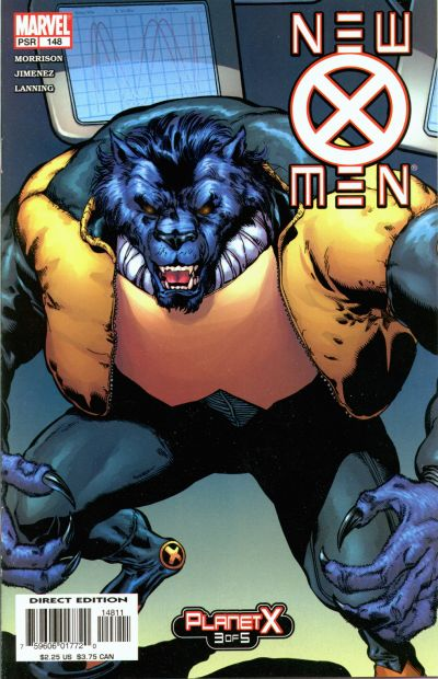 Cover for New X-Men (Marvel, 2001 series) #148 [Direct Edition]