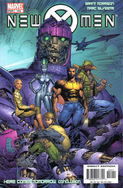 Cover for New X-Men (Marvel, 2001 series) #154 [Direct Edition]