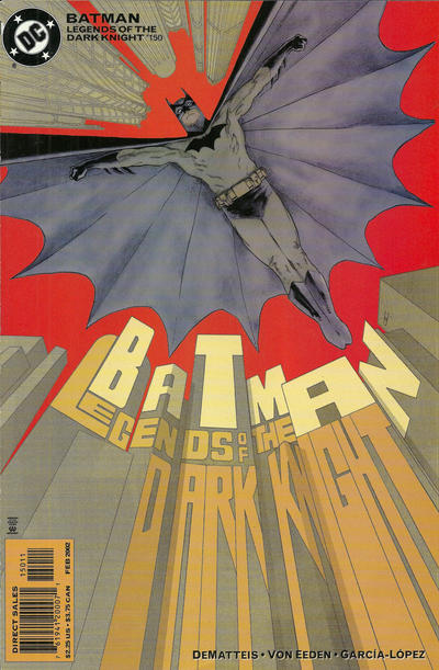 Cover for Batman: Legends of the Dark Knight (DC, 1992 series) #150