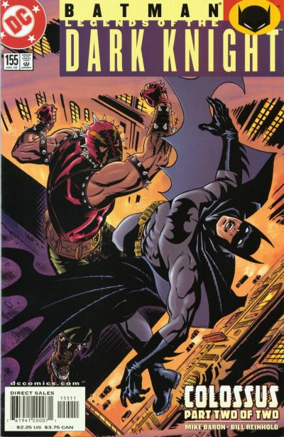 Cover for Batman: Legends of the Dark Knight (DC, 1992 series) #155