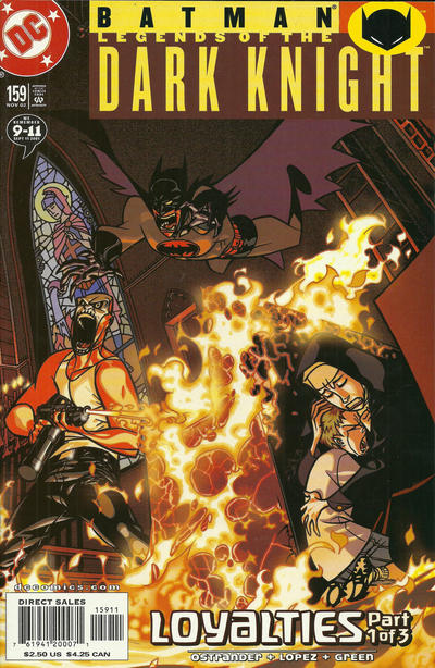 Cover for Batman: Legends of the Dark Knight (DC, 1992 series) #159