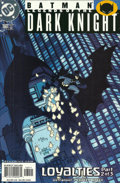 Cover for Batman: Legends of the Dark Knight (DC, 1992 series) #160