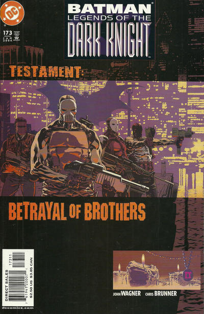 Cover for Batman: Legends of the Dark Knight (DC, 1992 series) #173