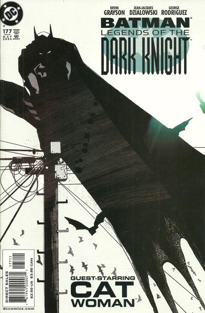 Cover for Batman: Legends of the Dark Knight (DC, 1992 series) #177